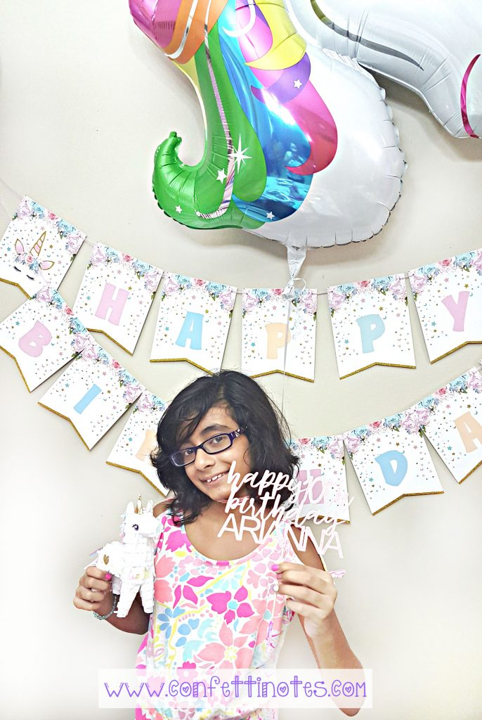 my unicorn birthday party