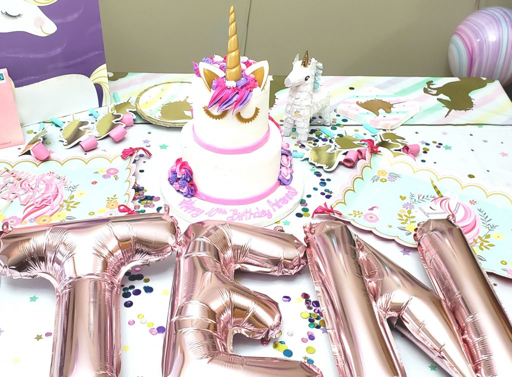 my unicorn birthday recap