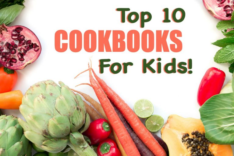 Top 10 Cookbooks for kids
